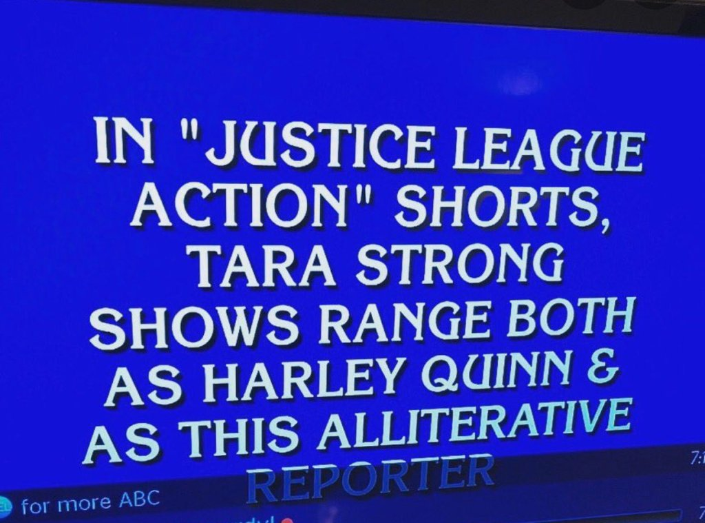 JLA Jeopardy Question