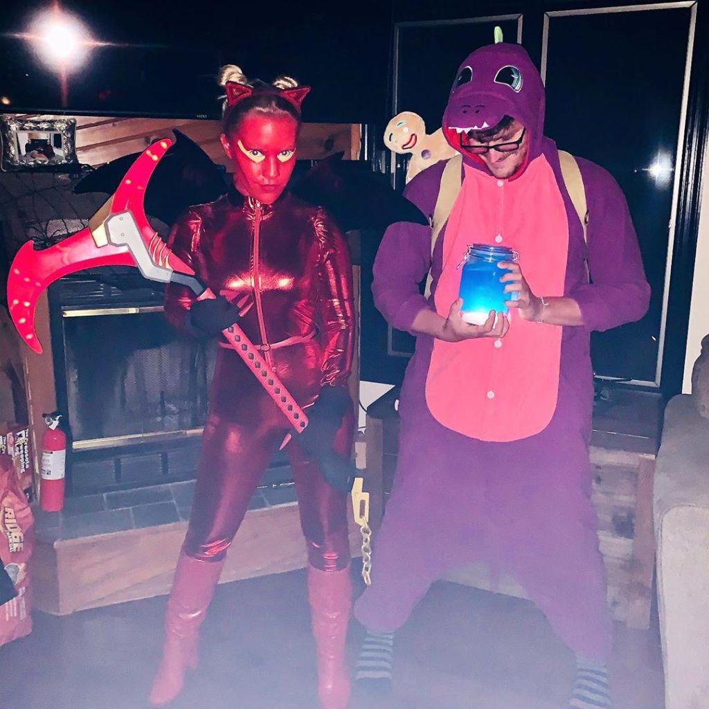 Kristen Alderson Halloween 2020