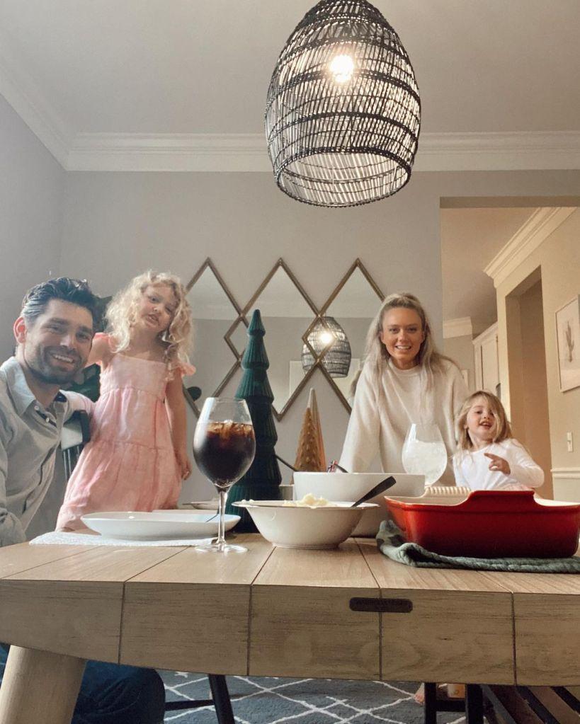 Melissa Ordway Justin Gaston family