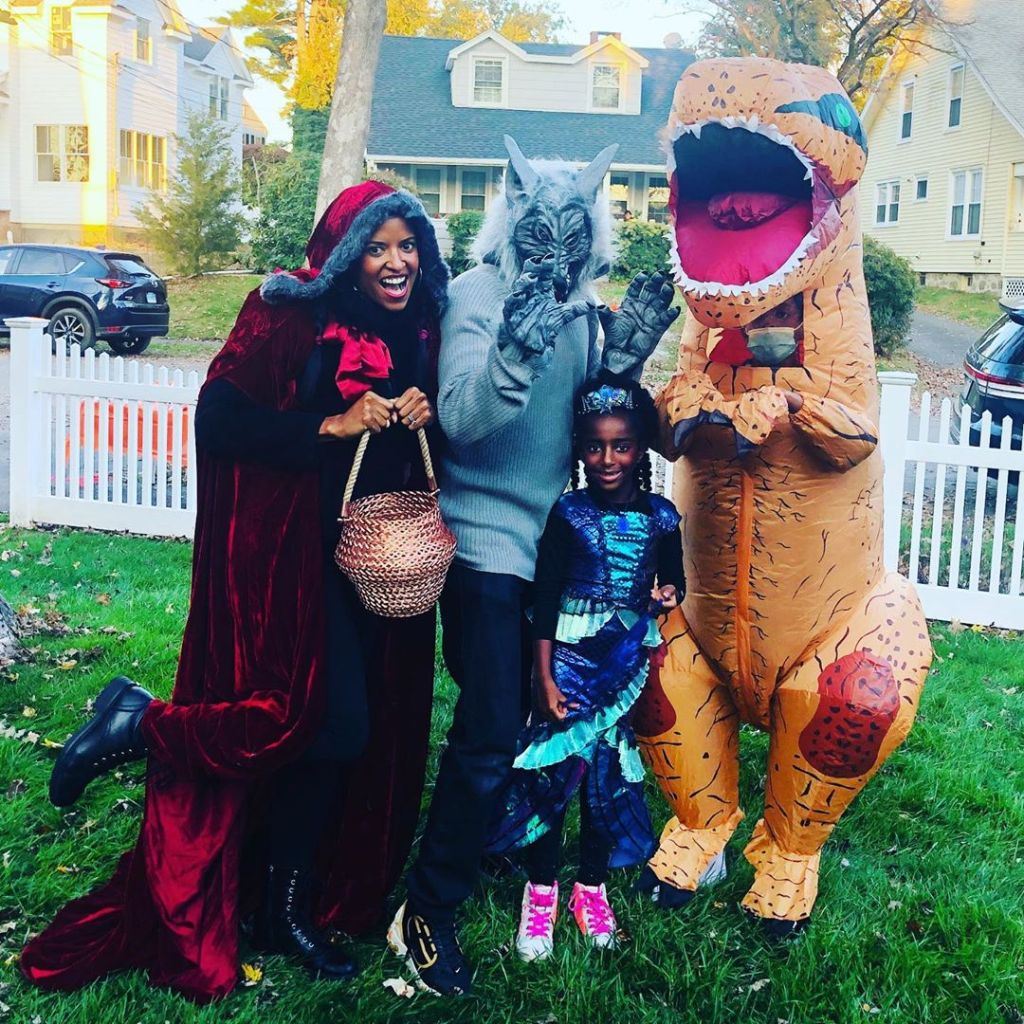 Renee Elise Goldsberry Halloween 2020