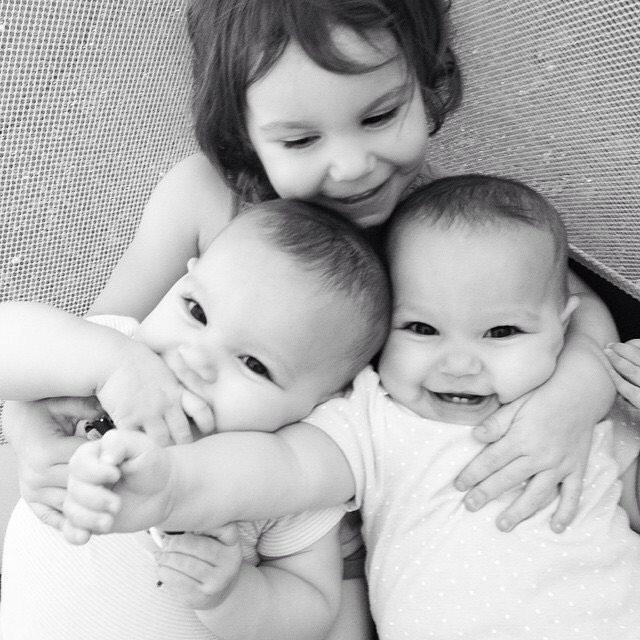 Ava, Grace and Sophia Scarola
