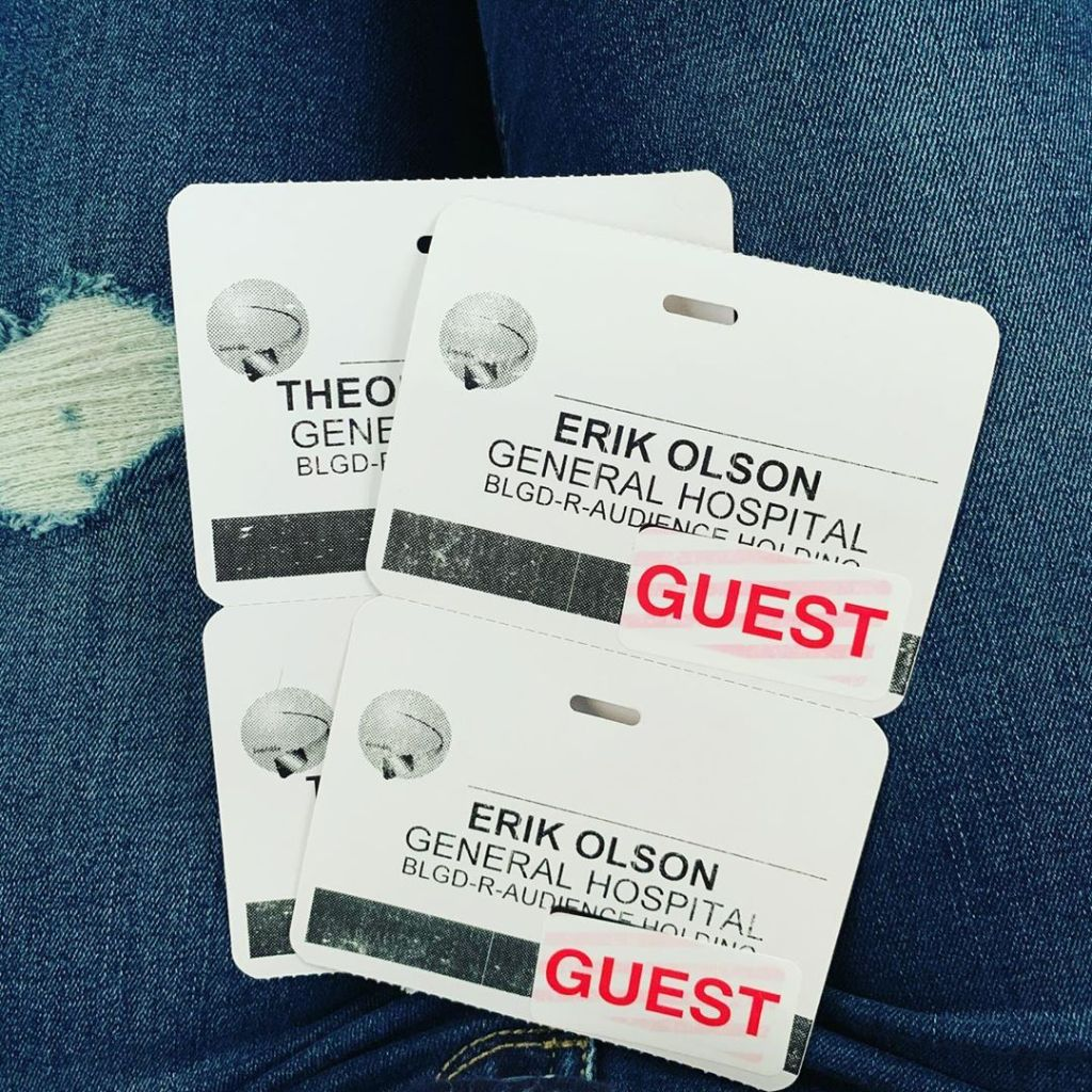 Theo Erik Olson badges