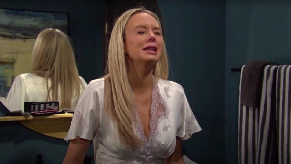 Y&R Abby Crying