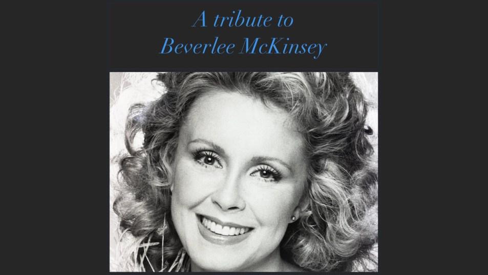 beverlee mckinsey tribute
