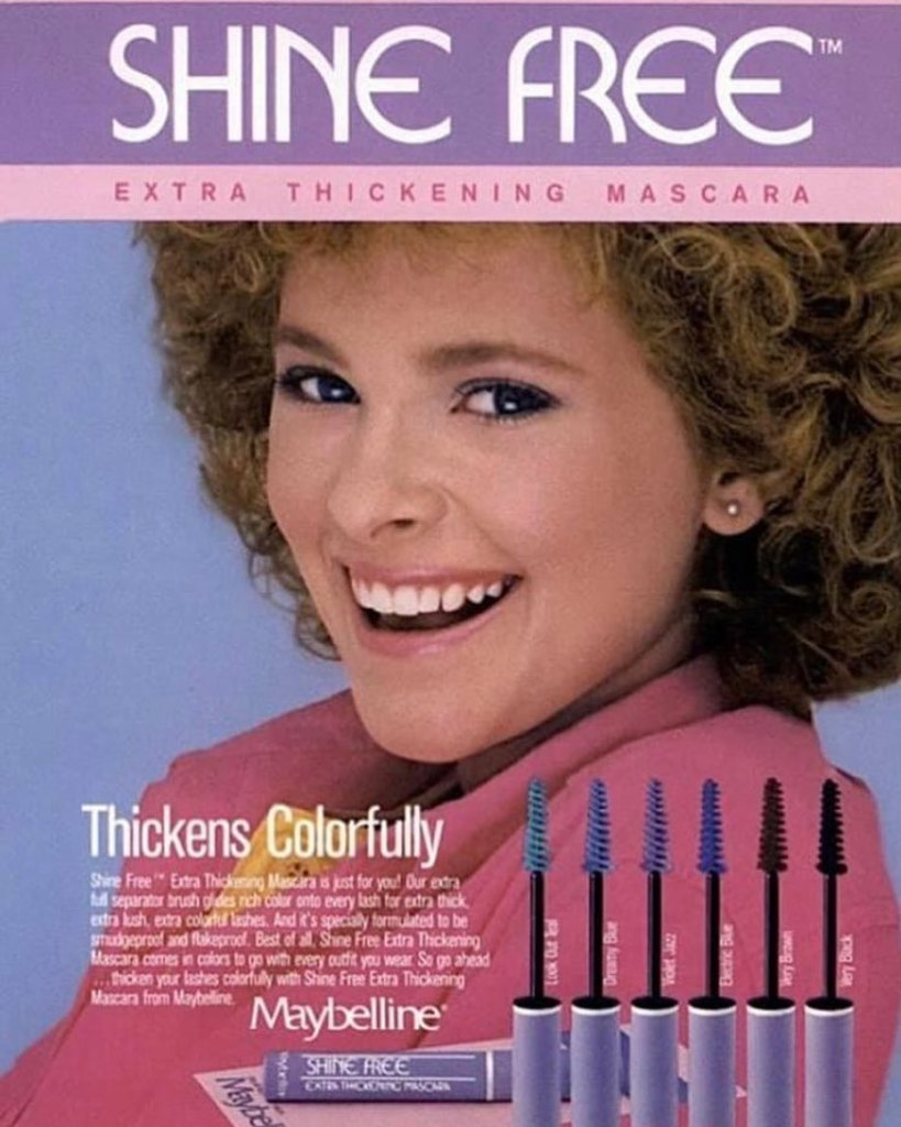 Cady McClain Maybelline ad