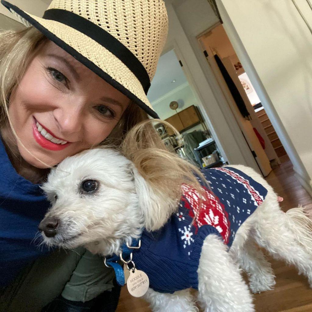 Cady McClain dog