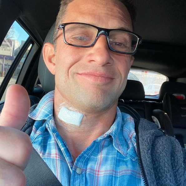 David Fumero selfie