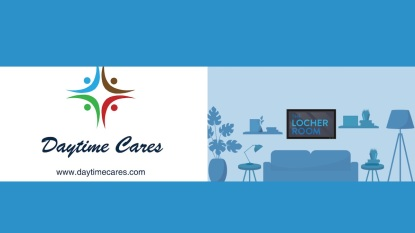 Daytime Cares Locher Room logos