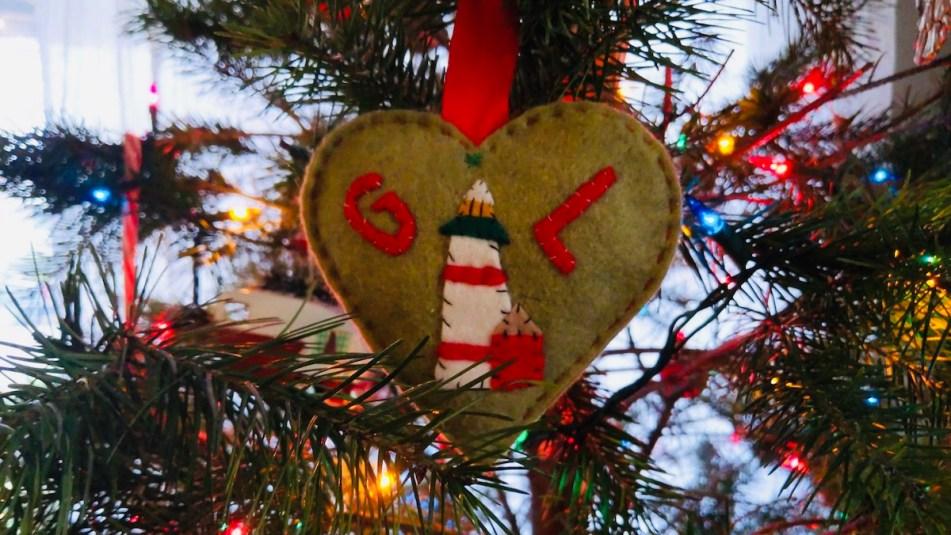 Guiding Light ornament