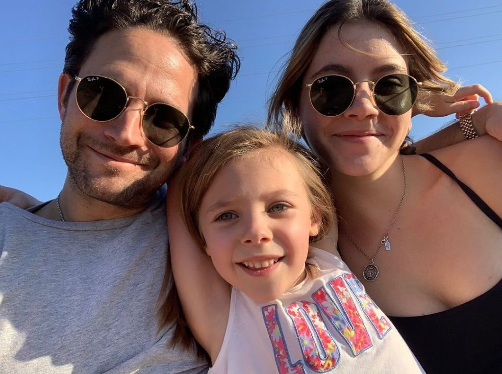 Brandon Barash girlfriend Isabella daughter Harper