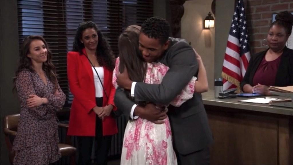 GH Molly TJ hug