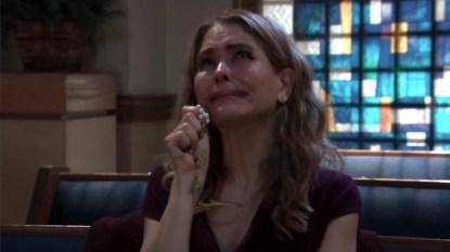 GH Olivia crying
