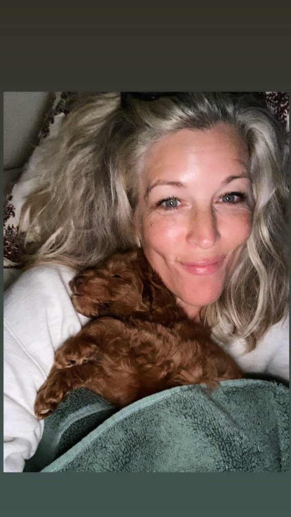 Laura Wright Wes Ramsey Puppy 1