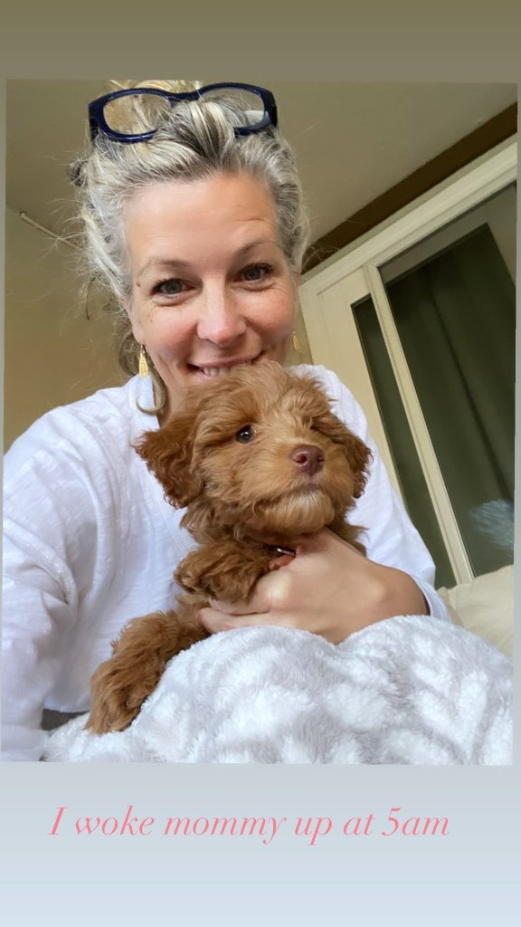 Laura Wright Wes Ramsey puppy 7