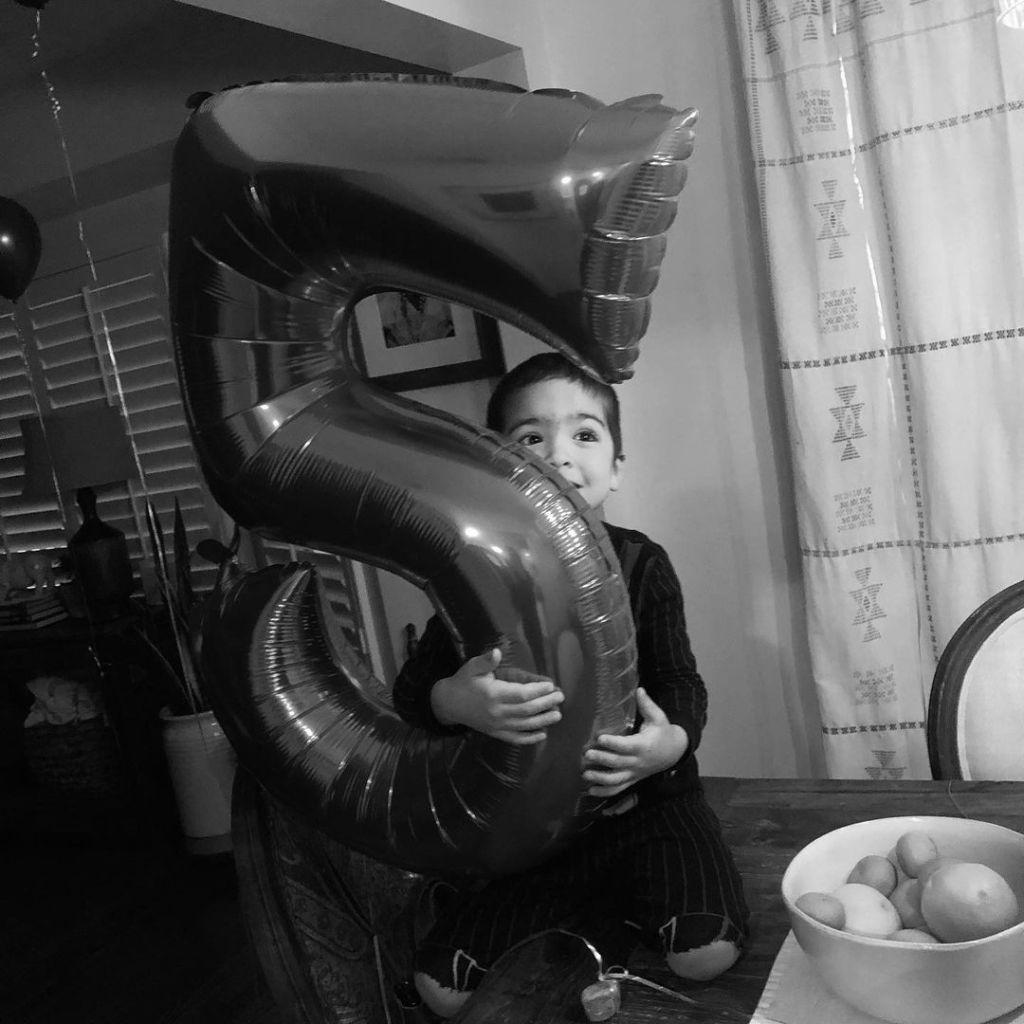 Enzo Fumero 5th birthday