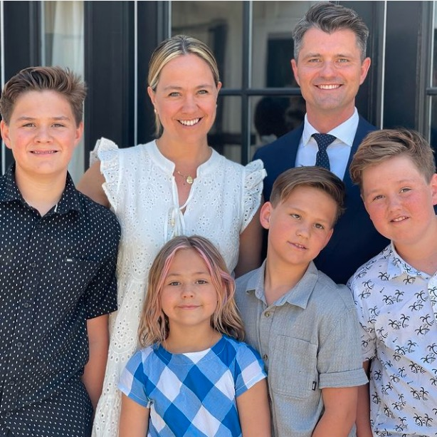 Chad Brannon family Easter 2021