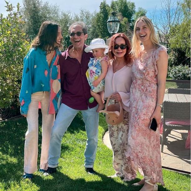 Jacklyn Zeman family Easter 2021