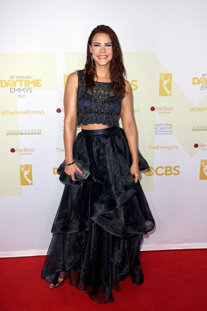 Courtney Hope Emmys 2021