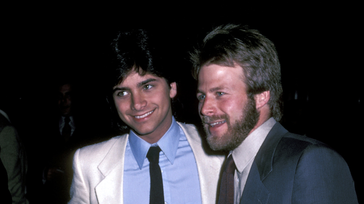 Old Friends John Stamos and Kin Shriner Reunite —Watch the Hilarious Video!