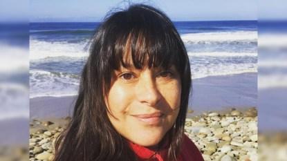 Kimberly McCullough beach