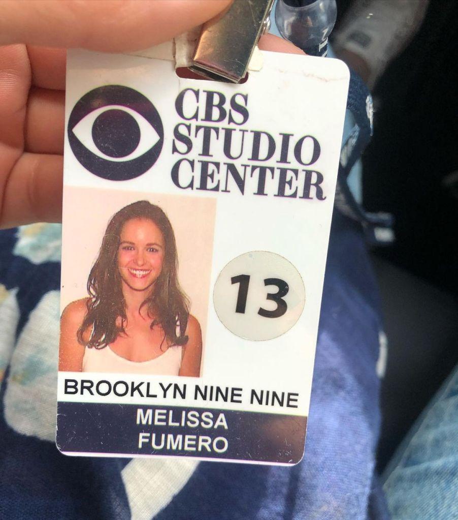 Melissa Fumero ID badge