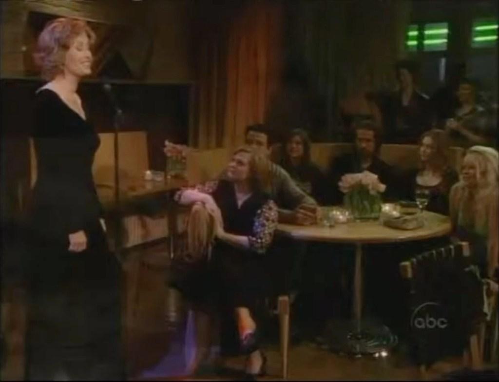 OLTL Eve McBain sings