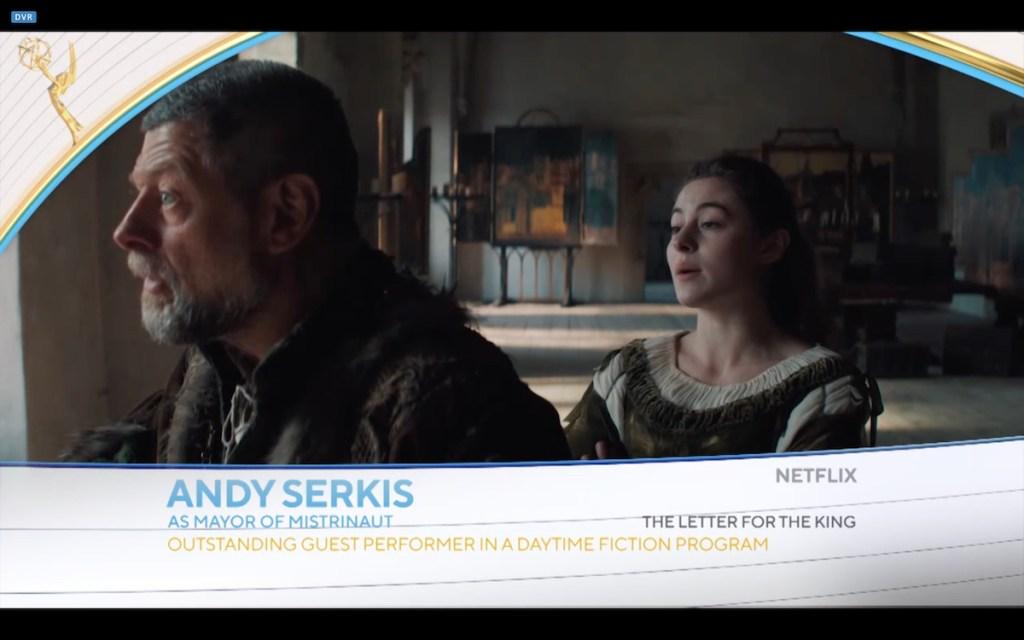 Andy Serkis Emmy 2021