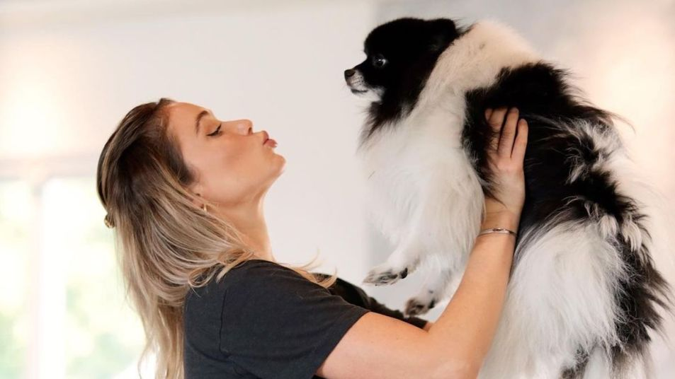 Katrina Bowden dog