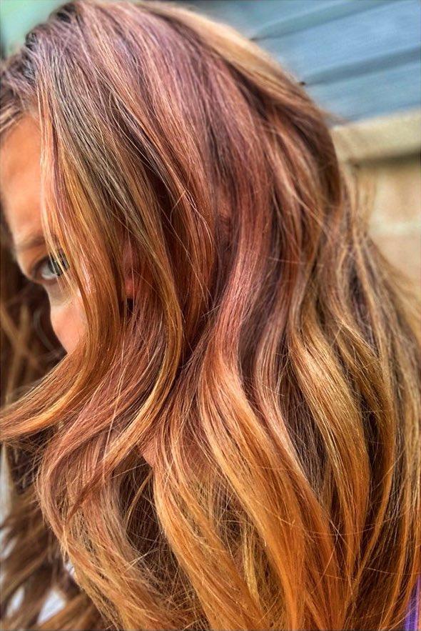 Michelle Stafford hair color fail
