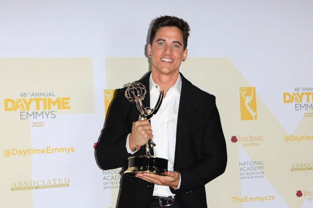 Mike Manning Emmy Win