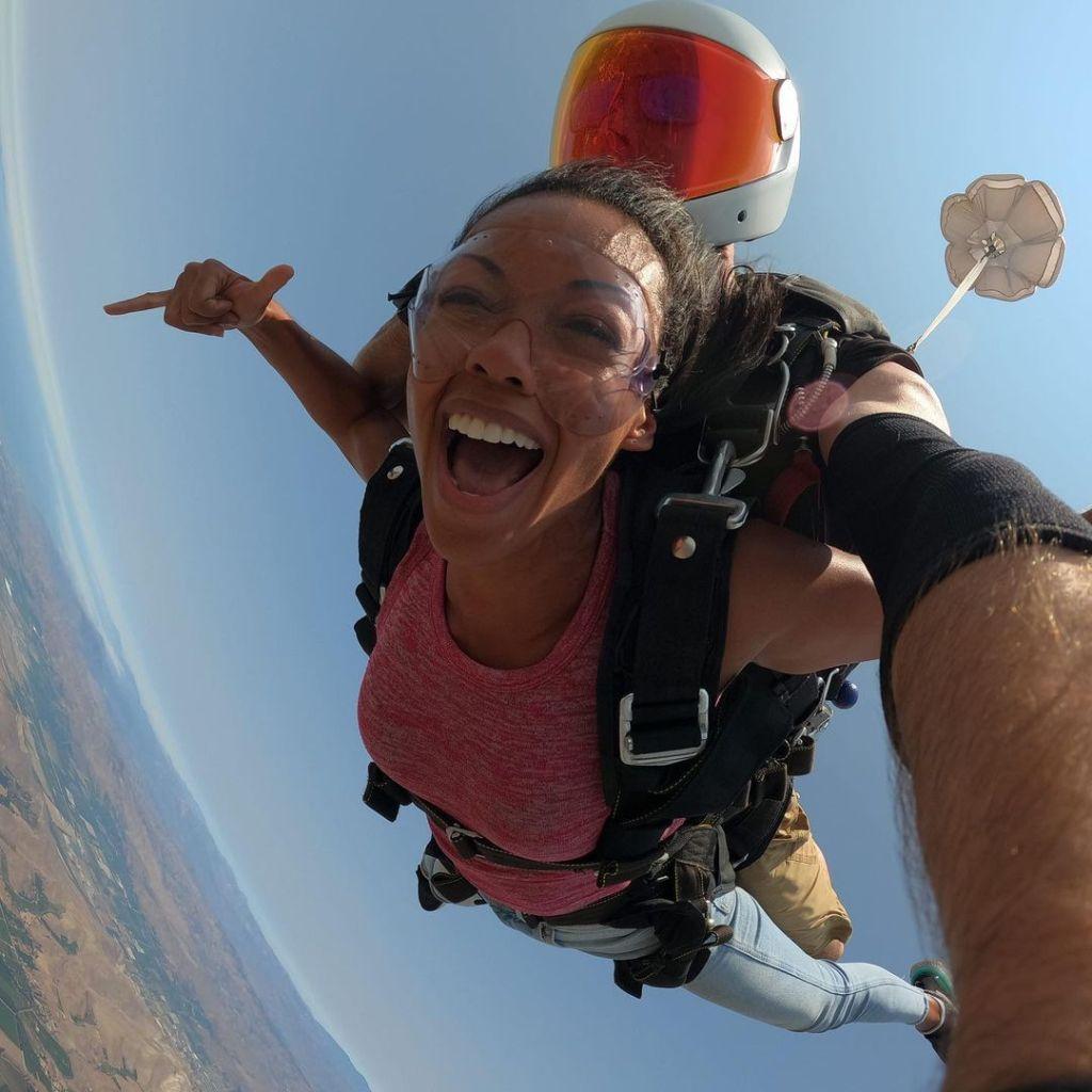 Mishael Morgan Skydive 04