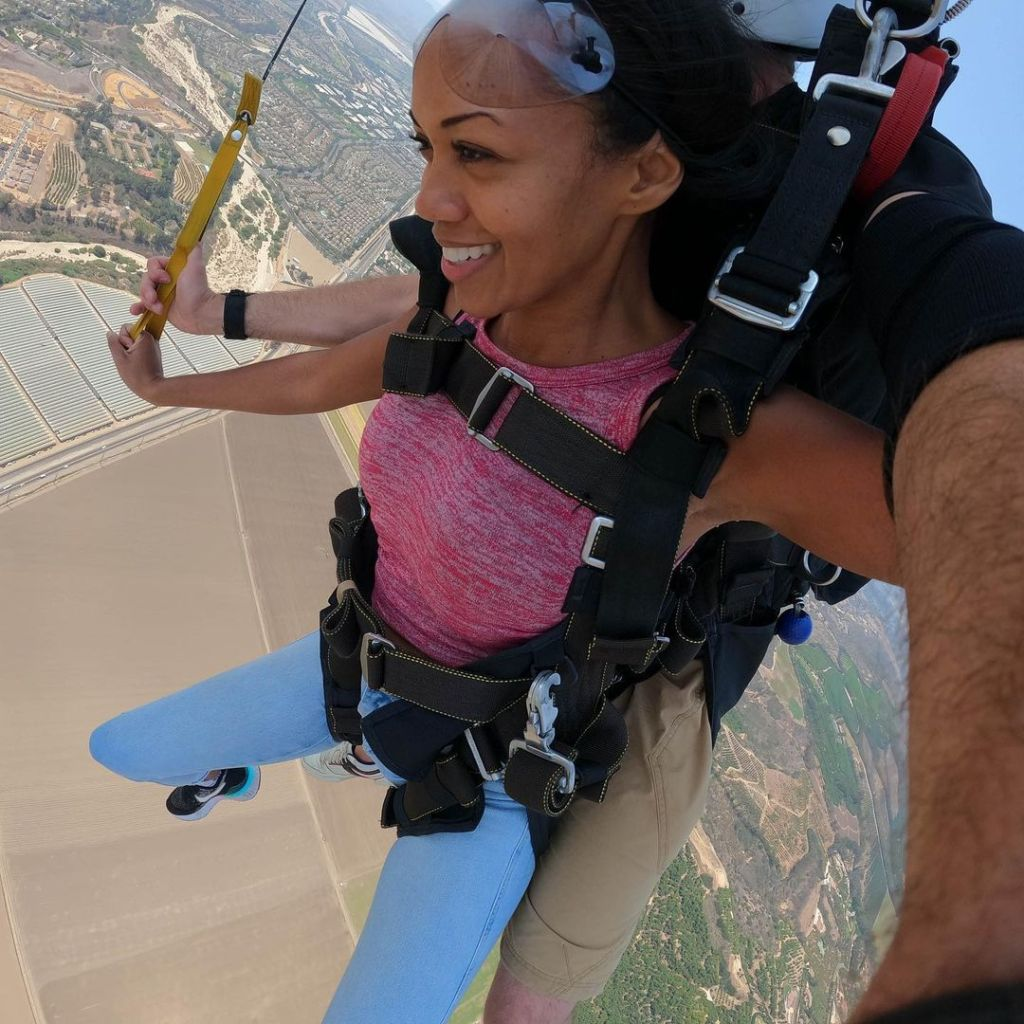 Mishael Morgan Skydive 05
