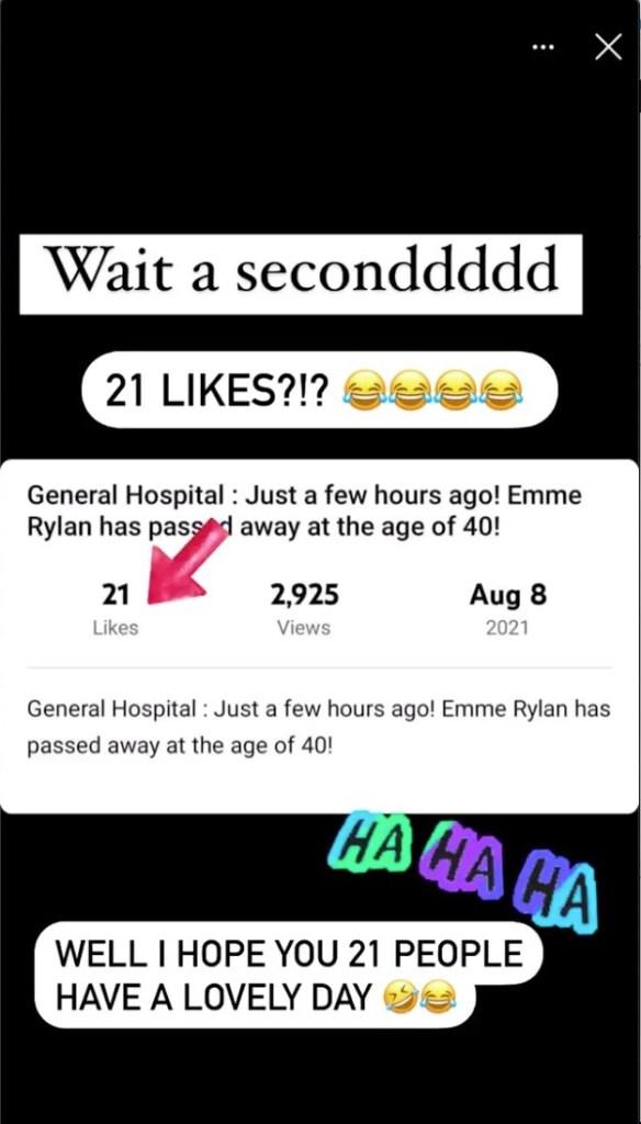 Emme Rylan not dead