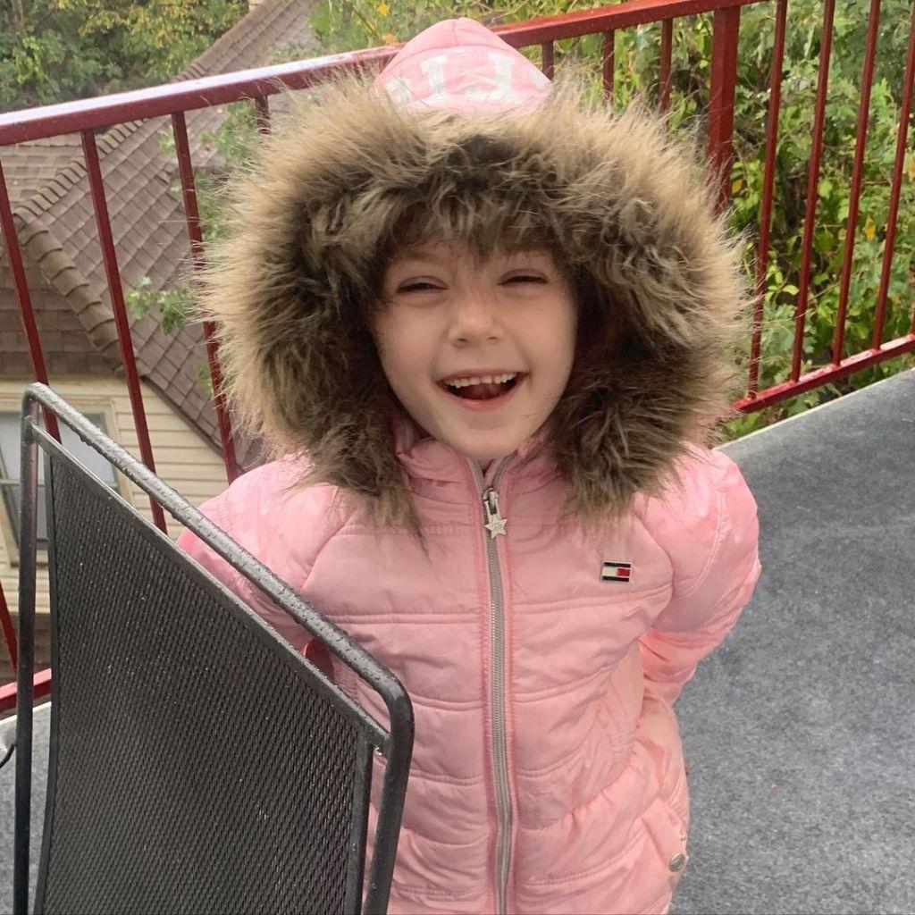 Adrienne Frantz Daughter