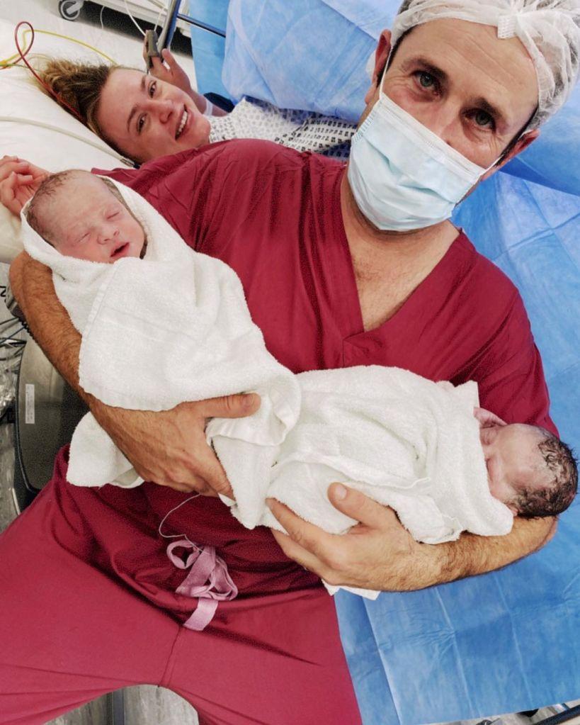 Hayley Erin Adam Fergus twins