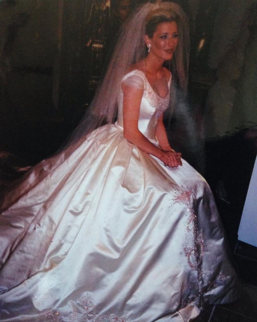 Laura Wright GL Wedding BTS