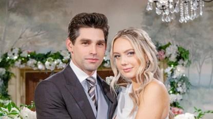 Y&R Chance Abby wedding